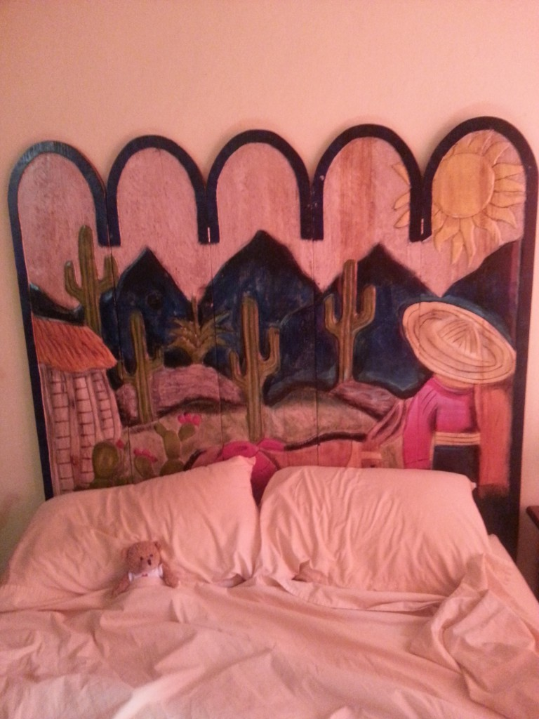Sjengske slaapt in zijn eerste Latijns Amerikaanse bed