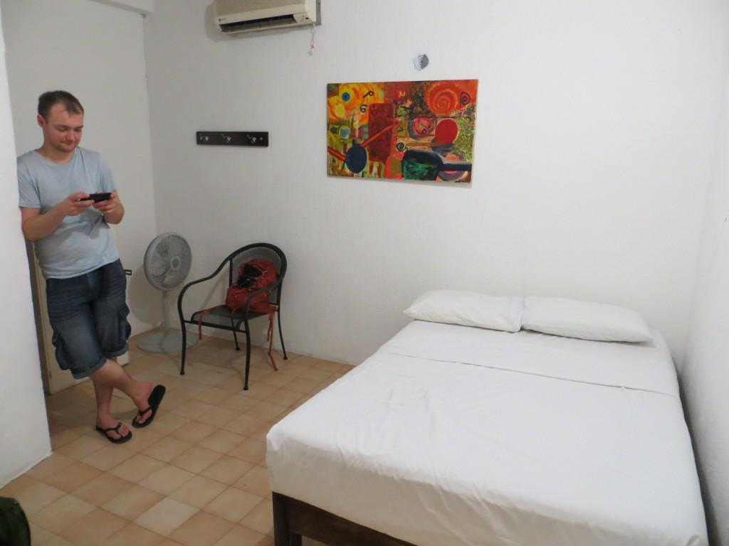 Onze eerste kamer in Tulum