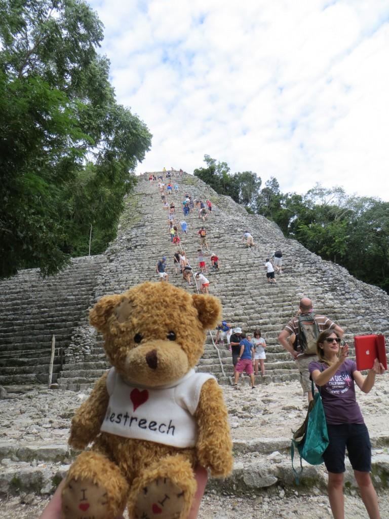 Sjengske voor de Mayatempel