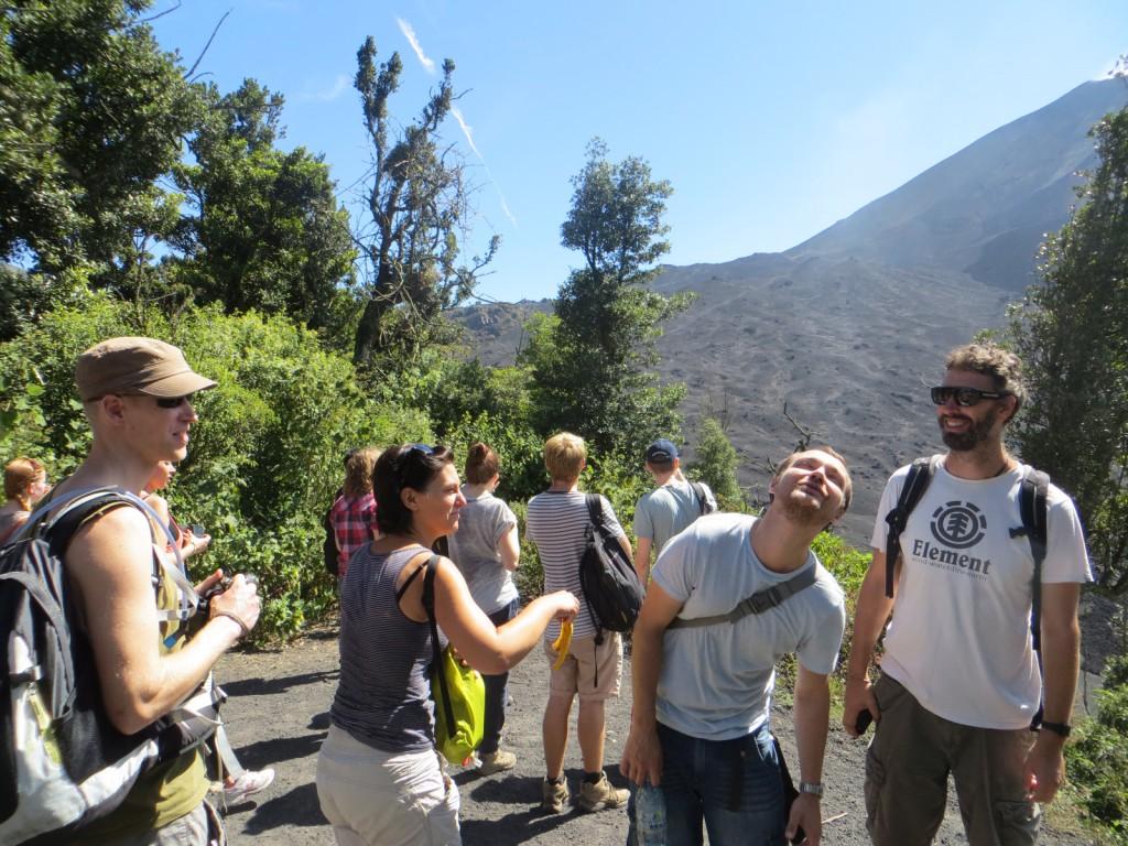 Michiel doet vulkaan Pacaya na