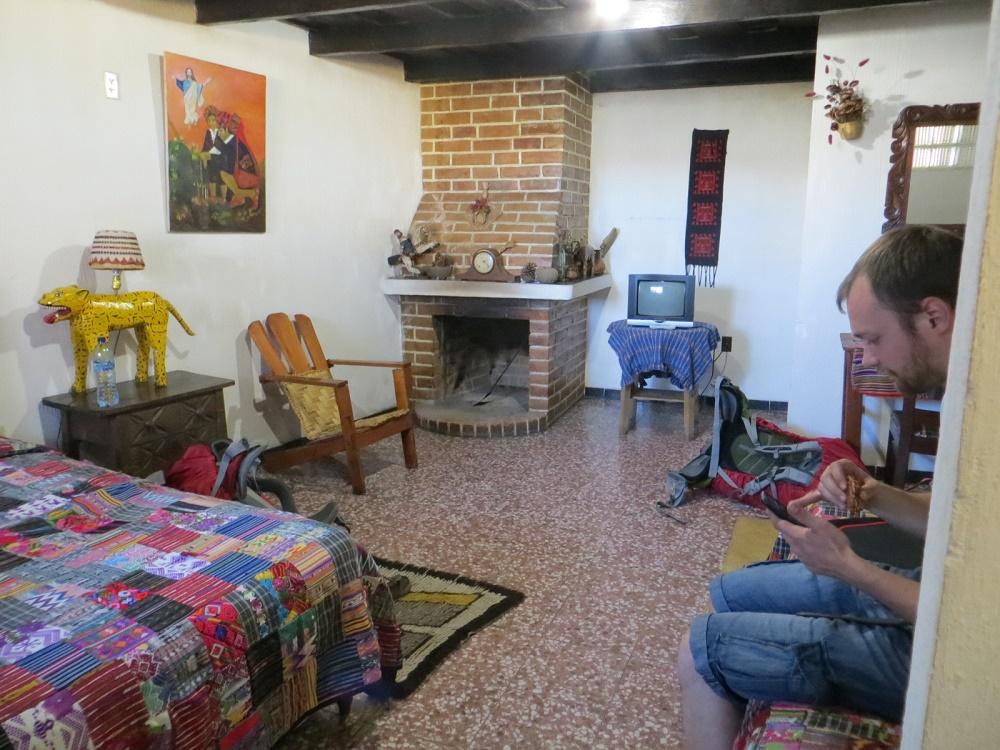 Onze dure, maar mooie kamer in ChiChi.
