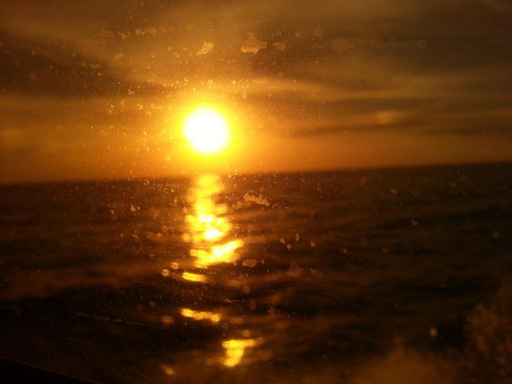 De laatste zon die we zagen in Belize