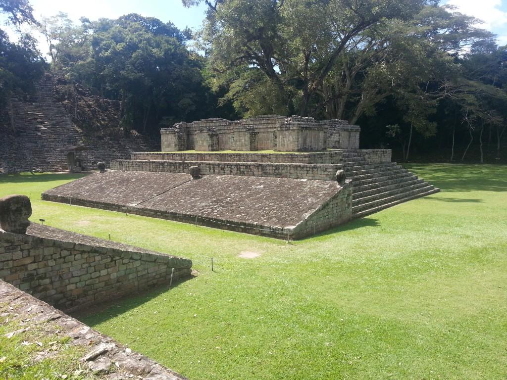 De laatste Maya Ruines