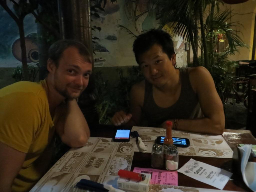 Michiel en Victor bij Via Via