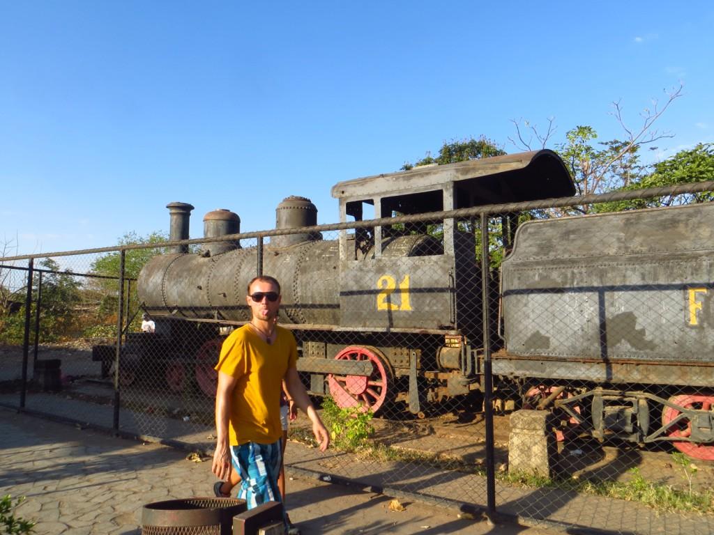 Het oude treinstation