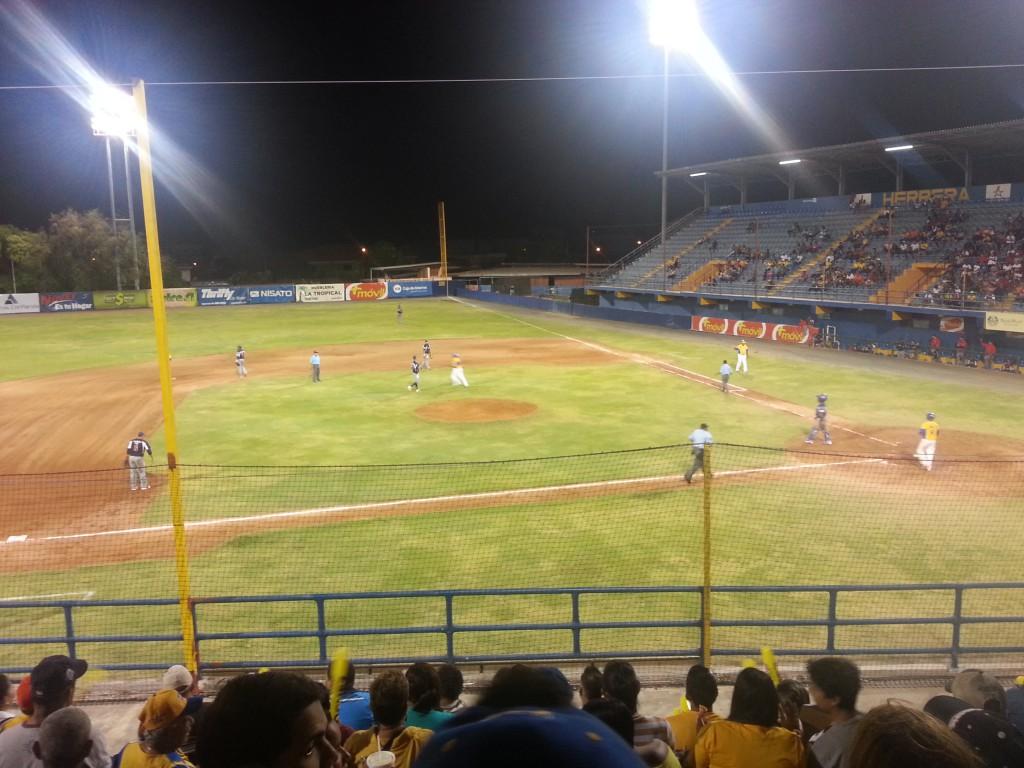 Mijn eerste Panamese honkbalervaring.