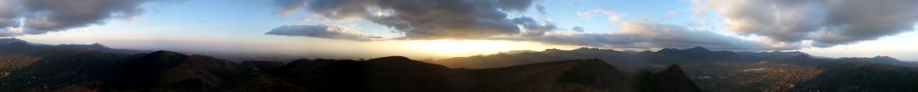 Eén van de panoramas van El Valle