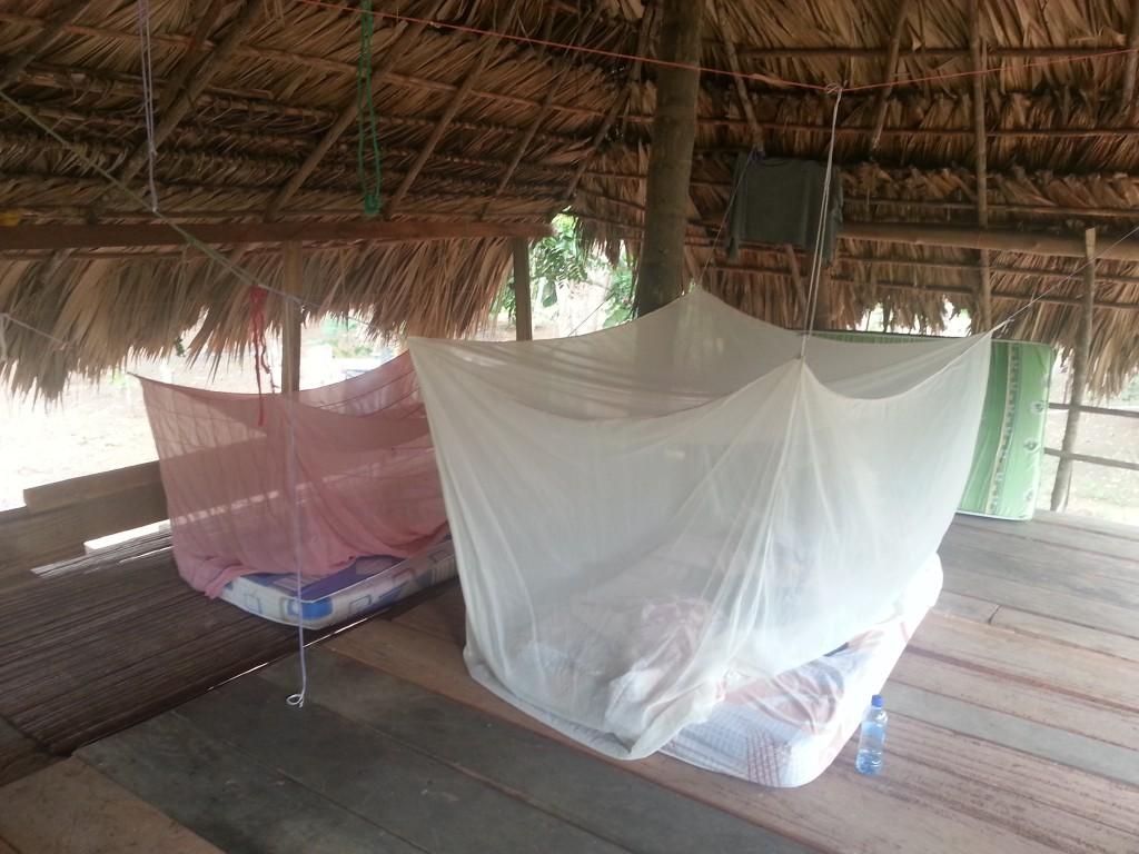 Hier sliep ik op tijdens mijn verblijf in La Chunga.