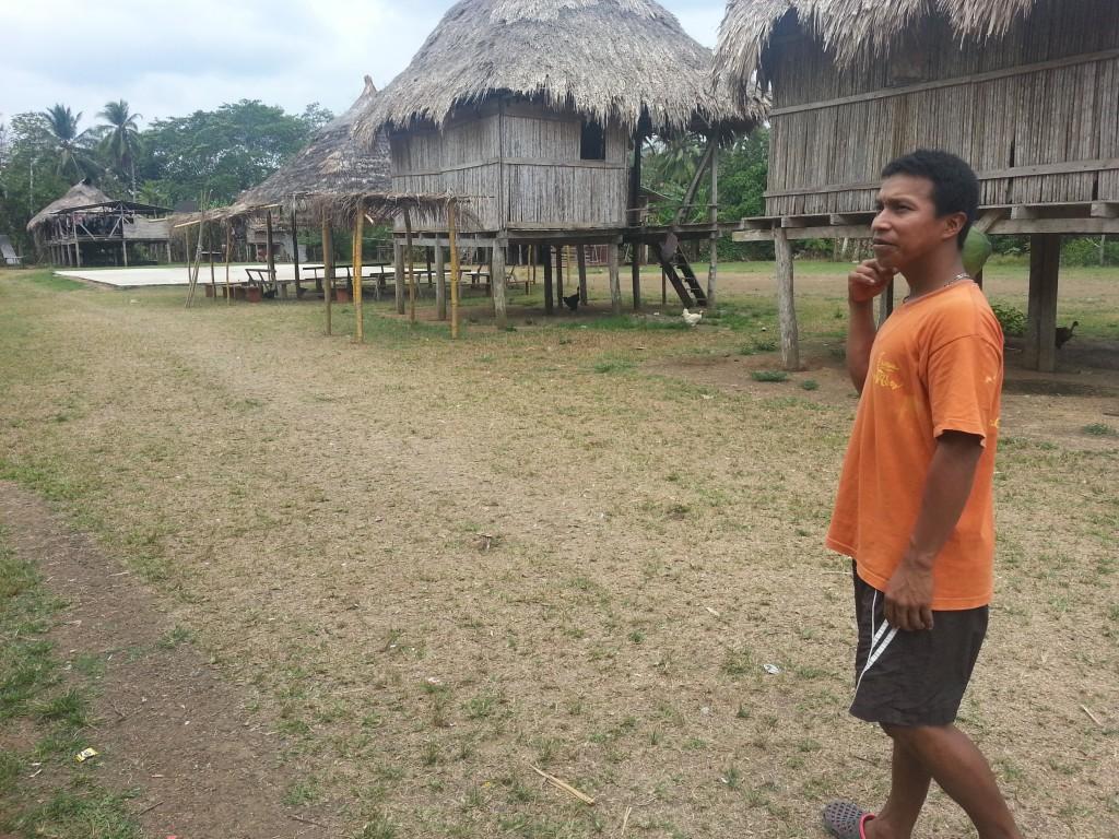 Het dorp La Chunga en mijn roomie Felix.