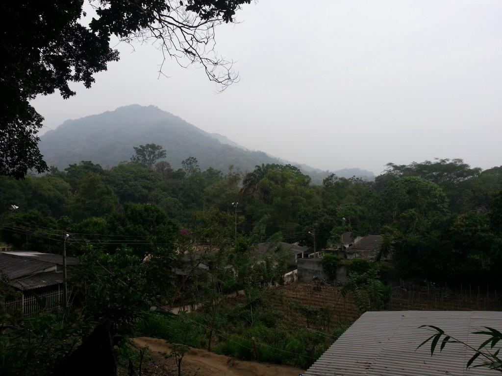 Het dorpje Minca