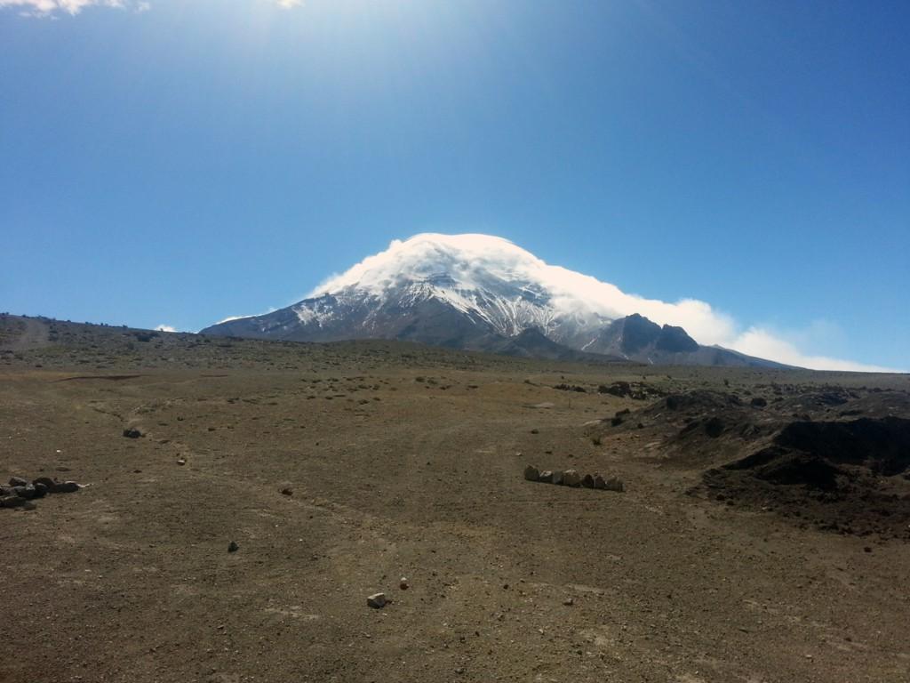 Het hoogste punt waar ik ooit geweest ben: Chimborazo.