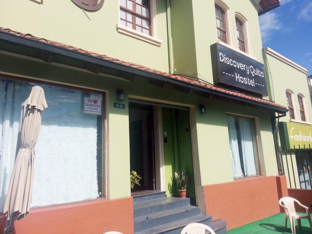 Discovery. Mijn schuilplaats in Quito.