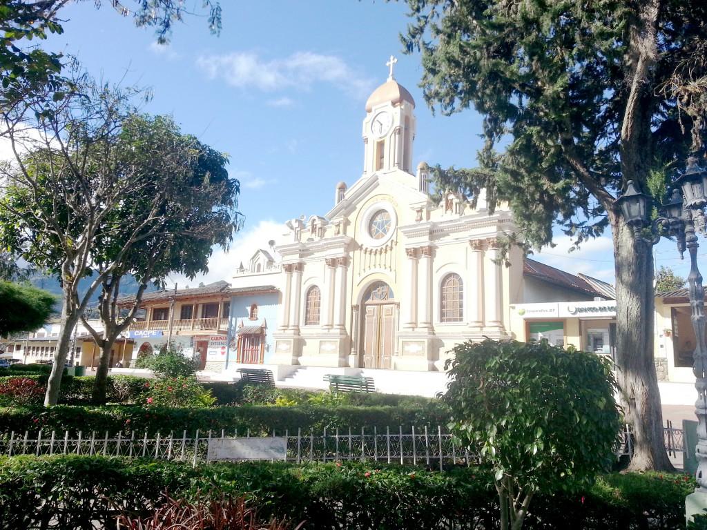 Het alleraardigste kerkje van Vilcabamba.