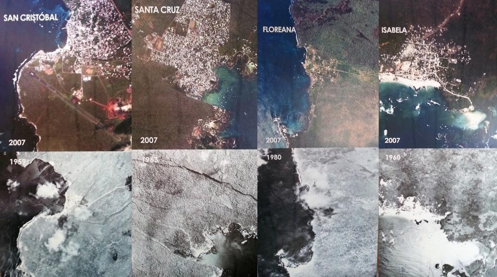 De eilanden zijn flink veranderd de afgelopen 30-40 jaar.