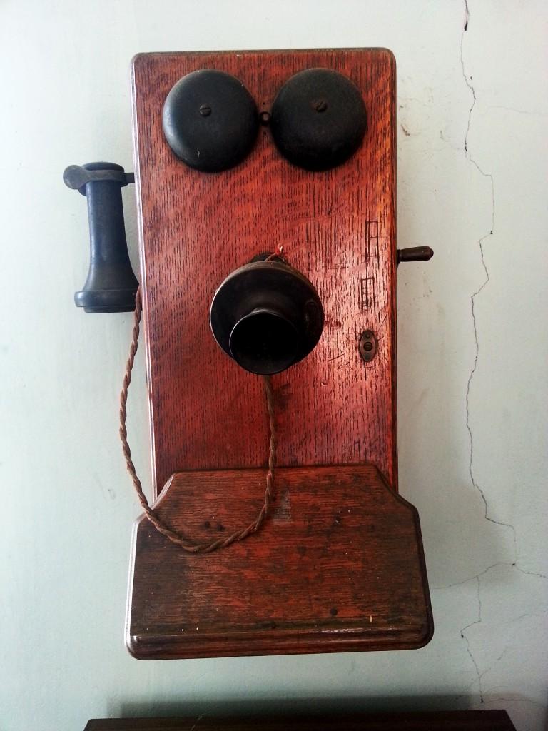 Zo'n oude telefoon is geen gezicht!