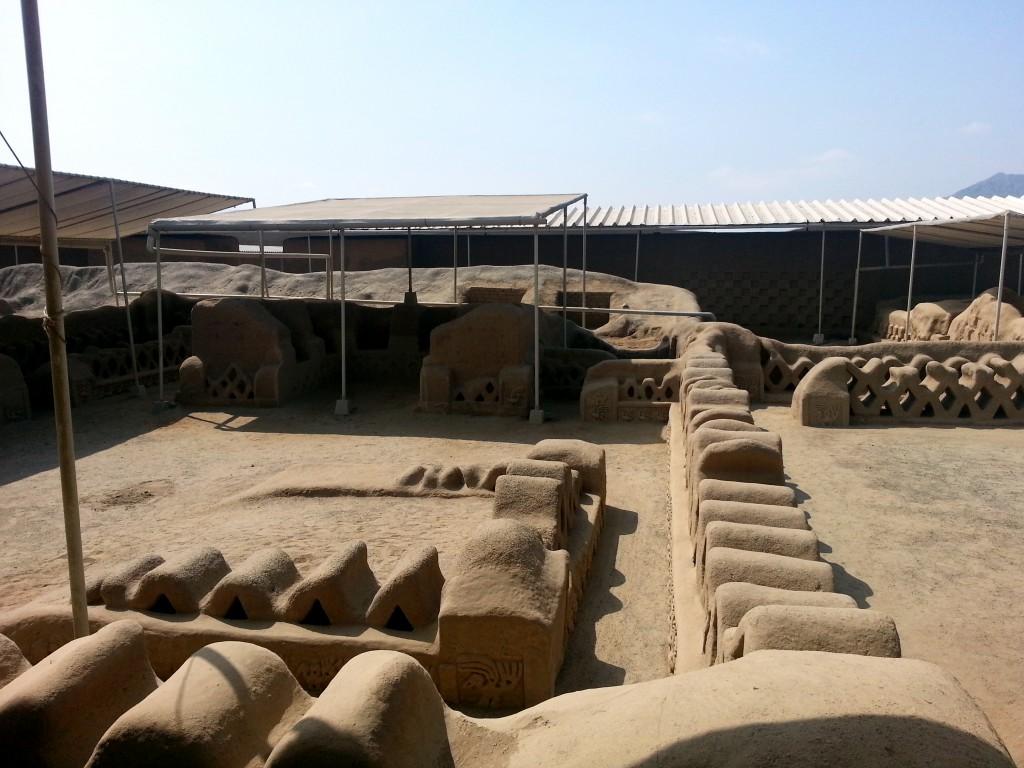 De 'plastic' ruines van Chan Chan