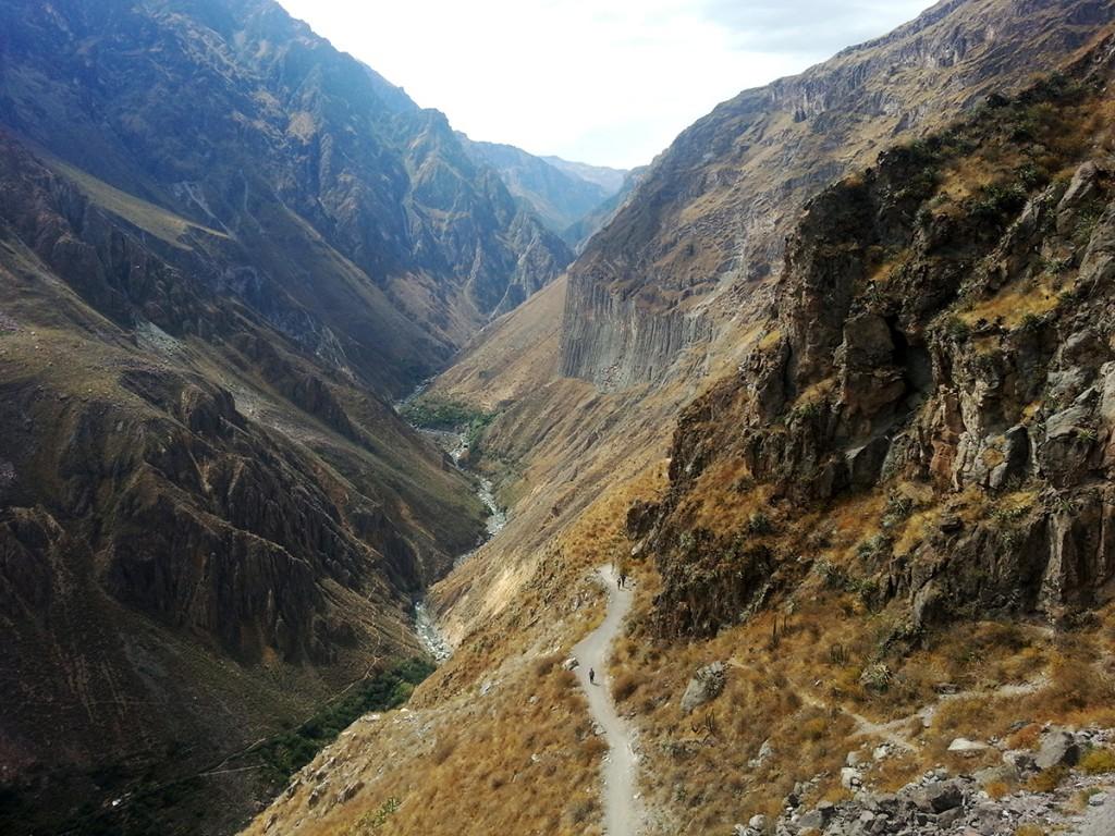 De Colca Canyon.