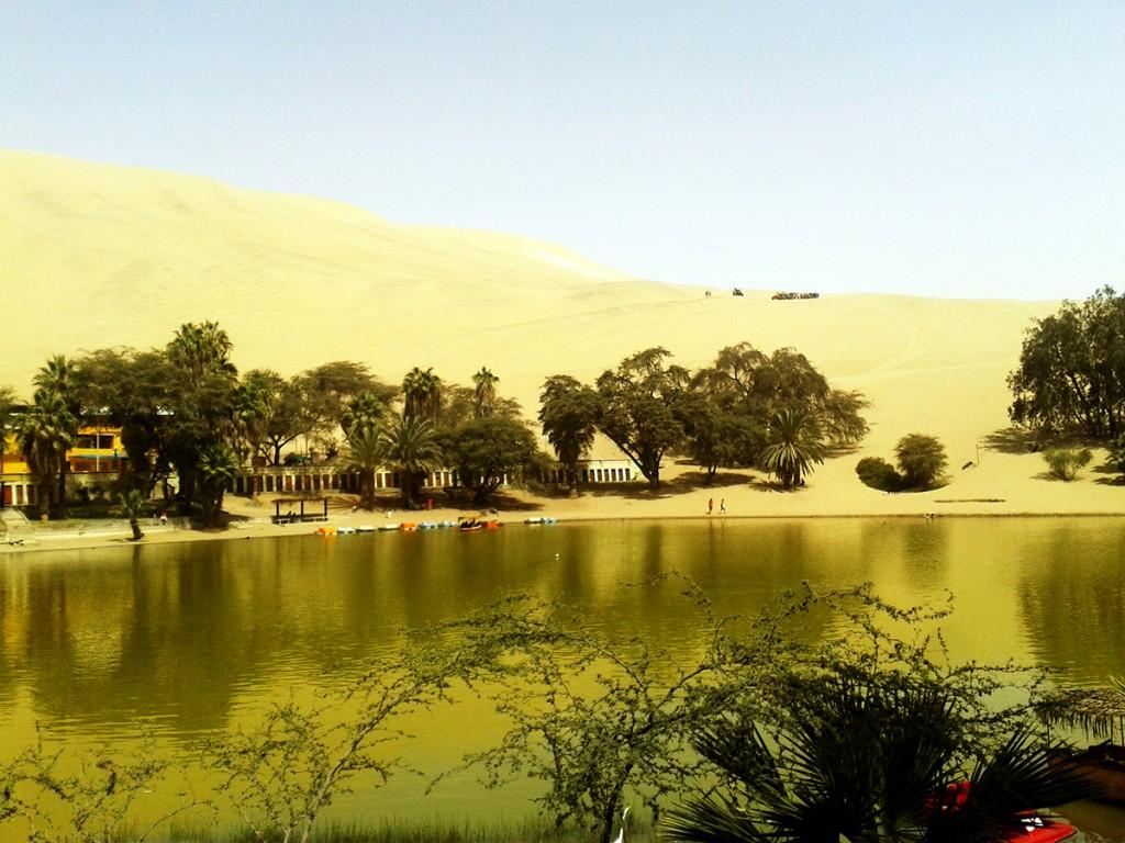 De oase van Huacachina.