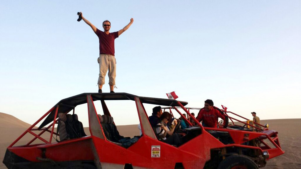 King of the world!! Eeh buggy.