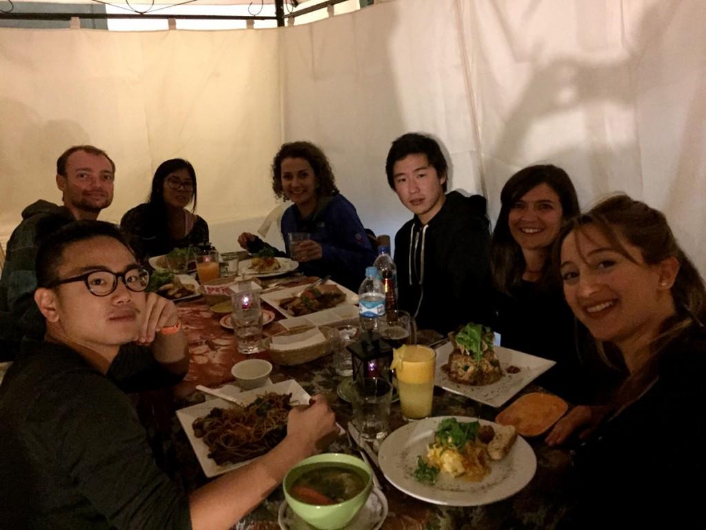 Met zijn zevenen bij het beste restaurant van Latijns Amerika (dusver).