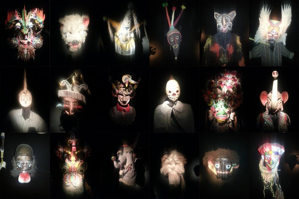 De maskers van Bolivia