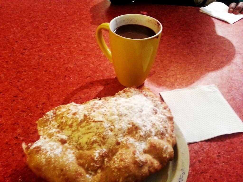 Mijn suikerzoete ontbijt.