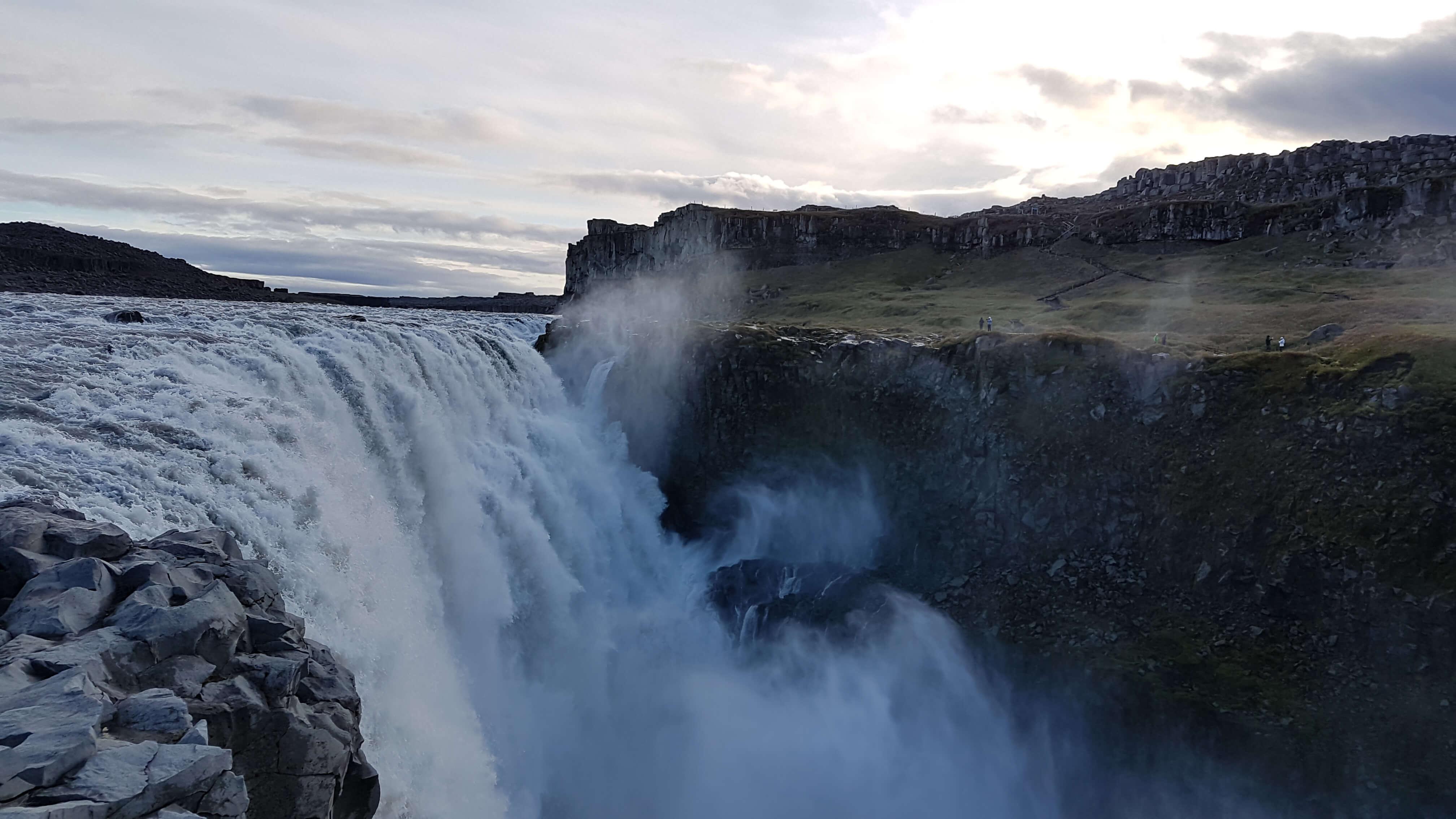 Dettifoss waterval (100 meters breed)